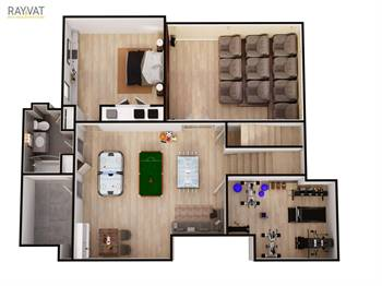 Get Architectural 3D Floor Plan Rendering services on affordable price