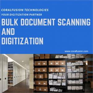 Documents Scanning Digitization Services