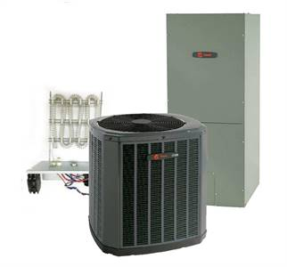 Trane 3.5 Ton 16 SEER Single Stage Heat Pump System Includes Installation