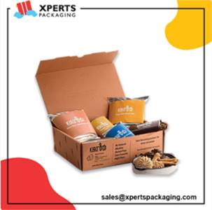 Get Custom Snacks Packaging Boxes at Wholesale rates