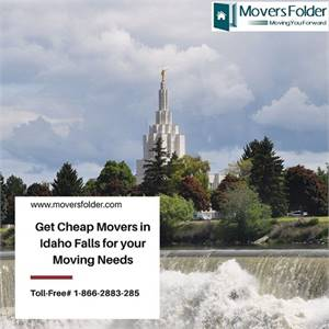 Get Cheap Movers in Idaho Falls for your Moving Needs