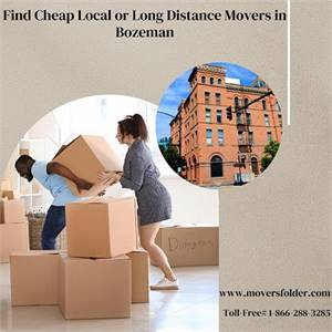 Find Cheap Local or Long Distance Movers in Bozeman