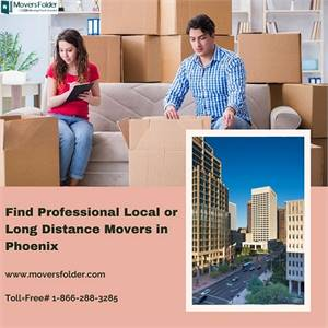 Find Professional Local or Long Distance Movers in Phoenix