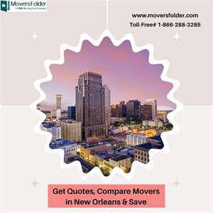 Get Quotes, Compare Movers in New Orleans & Save