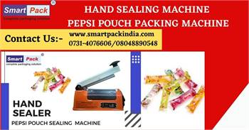 HAND SEALING MACHINE | PEPSI POUCH PACKING MACHINE
