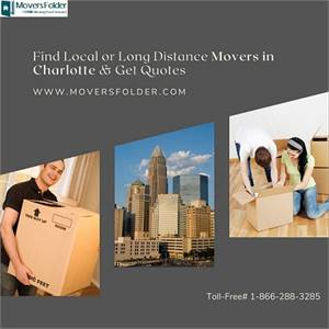 Find Local or Long Distance Movers in Charlotte & Get Quotes