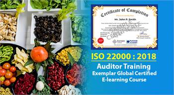 Online  ISO 22000 Certified Auditor Training Course