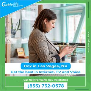 Get your Cable Service with our Quick and Easy sign-up form in Las Vegas, NV