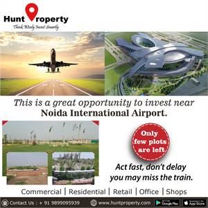 Great opportunity to invest near Noida International Airport.