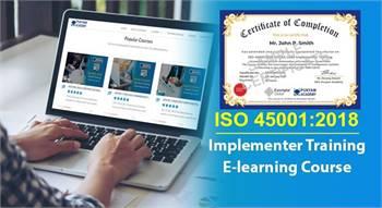 Online ISO 45001 Lead implementer Training