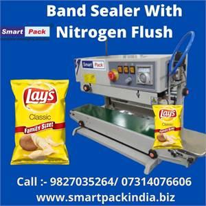 Band Sealer Machine With Nitrogen Flushing