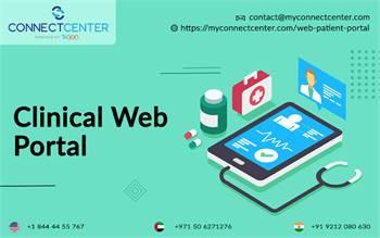 Secure Online Patient Web Portal in USA    CONNECT CENTER