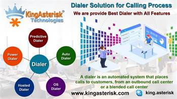 Automatic Call Center Dialer Solution for calling Process by Kingasterisk Technologies