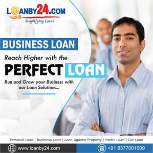 Get Business Loan through Loanby24.