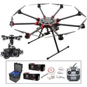 DJI Spreading Wings S1000+ Octocopter with Zenmuse Drones