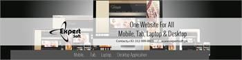 Website Designing   Mobile App   Domain Registration   Hosting - Expert Soft