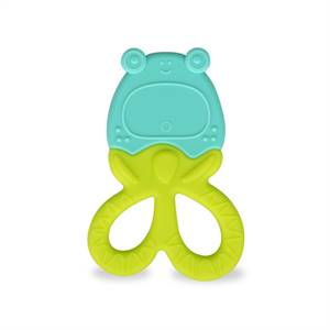 High Quality Funny Teether Toy Baby Loves Strawberry Shape Silicone Pain Removing Teething Fruit