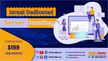 Increase Your Business with Israel Dedicated Server Hosting | Onlive Server
