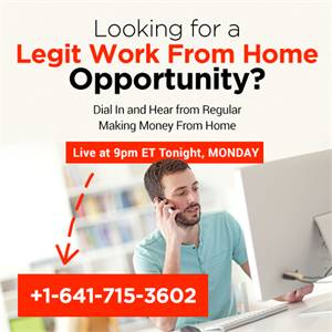 work from home online representative