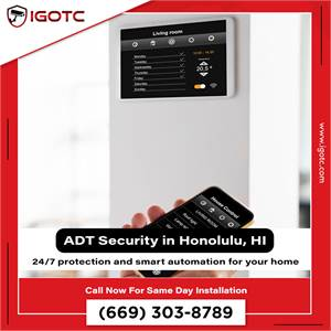 Secure your home with the best home alarm and security system in Honolulu, HI