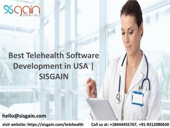 Get Suitable Mobile Telehealth Solutions in USA | SISGAIN