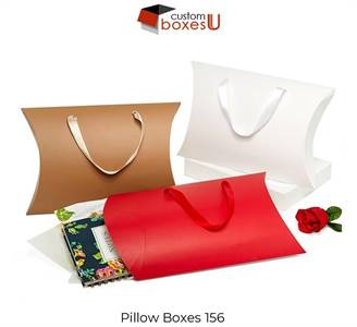 Pillow Boxes packaging wholesale in Texas