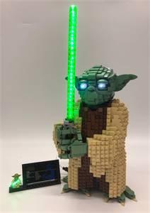 LED Lighting Kit For LEGO YODA 75255
