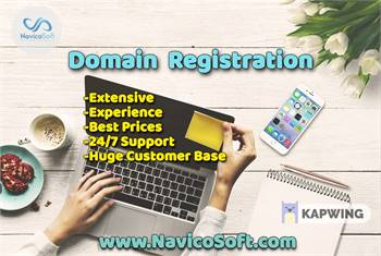 Domain Registration, Web Hosting Company