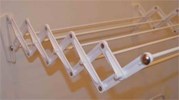 Welltech Systems Cloth drying wall mounted hanger