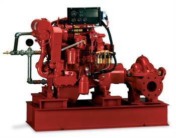 Diesel Driven Fire Booster Pump System In New York