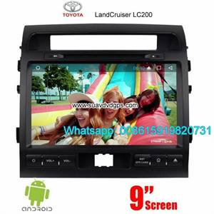 Toyota Land Cruiser Radio Audio Camera Android Navigation DVD GPS wifi