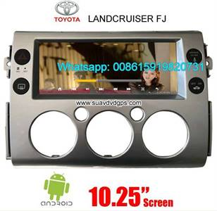 Toyota Landcruiser FJ Radio Car Android wifi GPS Camera Navigation