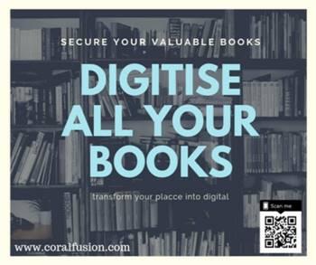 Book Scanning Digitization Services.
