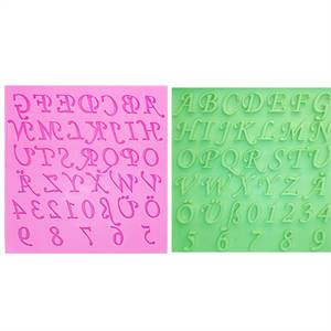 English Alphabet Mould