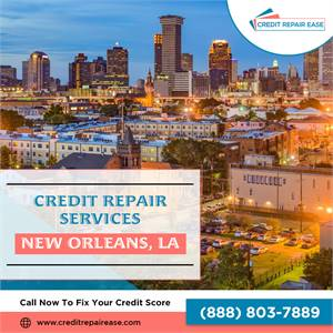 Best Credit Repair solution for in New Orleans, LA