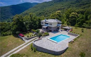 A Proposal For A Dream House In Pelion, Tsagarada, Greece