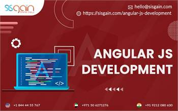 Best AngularJs Development Services in Nevada, USA | SISGAIN