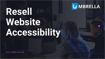 Deals on Resell Website Accessibility- Umbrella