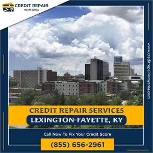 Credit Repair Made Easy in Lexington-Fayette, Kentucky