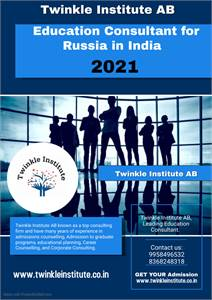 Education consultant for Russia 2021 Twinkle InstituteAB
