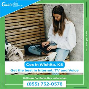 Get Cox Internet for Fast Streaming, Gaming and Surfing in Wichita, KS