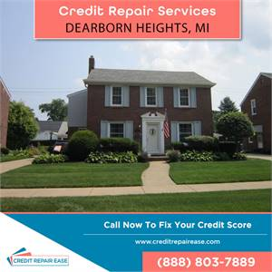 Fix your credit score in Dearborn Heights