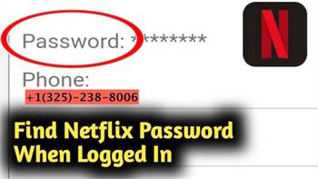 How to sign in to a Netflix account with the correct password?