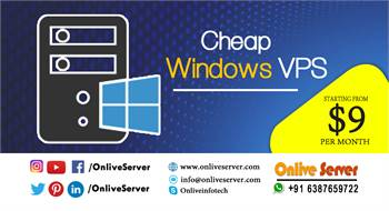 Increase Your  Business with Cheap Windows VPS By Onlive Server