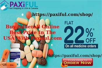 Buy Adderall Online Best Price In The USA With Paxiful.com