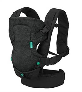 Infantino Flip 4-in-1 Carrier - Ergonomic, Convertible, face-in and face-Out, Front and Back Carry f