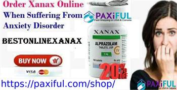 Buy Xanax Online Without Any Prescription in USA with Paxiful.com