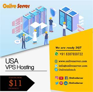 Get USA VPS Hosting with Astonishing Features by Onlive Server