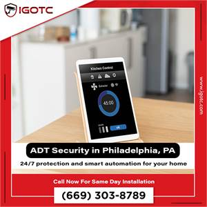 Buy ADT Home Security System in Philadelphia, PA