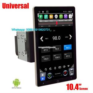 Auto Car Universal GPS 2 din 10.1 Tesla Rotating IPS PX6 Android Multimedia Radio WIFI